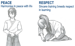 living impact aikido characters